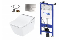 auto flush TOTO washlet sw wall-hung wc SP toilet