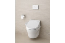 TOTO Combination WASHLET EK 2.0 (with side connections) + TOTO WC MH wall-hung