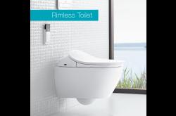 illeroy & Boch ViClean-L4 seat + Subway 2.0 washdown toilet with Ceramicplus 5614L4R1