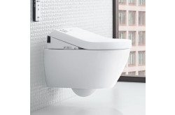 shower toilet wall mounted villeroy and boch subway 2.0 seat ViClean-U+ toilet seat