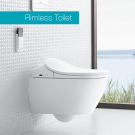 illeroy & Boch ViClean-L4 seat + Subway 2.0 washdown toilet with Ceramicplus 5614L4R1