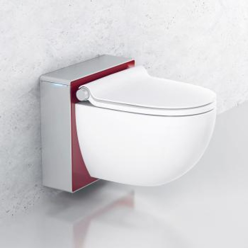 Schön ... Grohe Sensia Igs Spalet Chrome Red Wall Hung Rimless Washlet ...